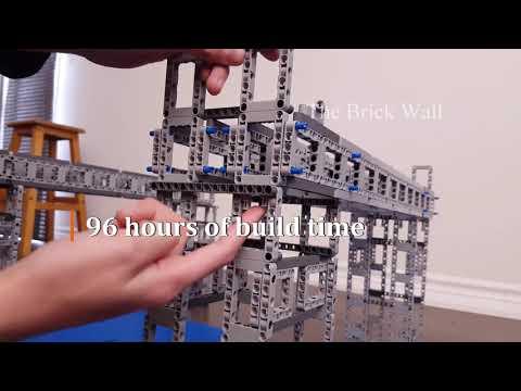 Super bridge for the supercar - Lego Technic