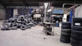 Завод по переработке бу шин в Европе(Завод перерабатывает бу шины на крошку и металл., 2016-10-19T09:20:40.000Z)