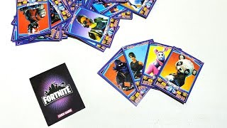 Unboxing Fortnite Card Game