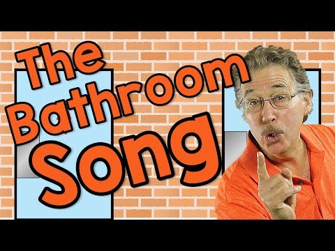 The Bathroom Song | Learning Good Manners for Kids | Jack Hartmann
