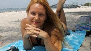 №25 Америка Дикий пляж.Рыбак Дядя Тил. Лимонадная машина.(Насладимся вместе солнышком на диком пляже в Майами!!! Познакомимся с местным рыбачком! http://www.youtube.com/edit?feature=v..., 2013-05-14T03:08:52.000Z)