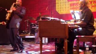 James Carter Organ Trio @ BRIC JazzFest,Brooklyn 10-16-2015