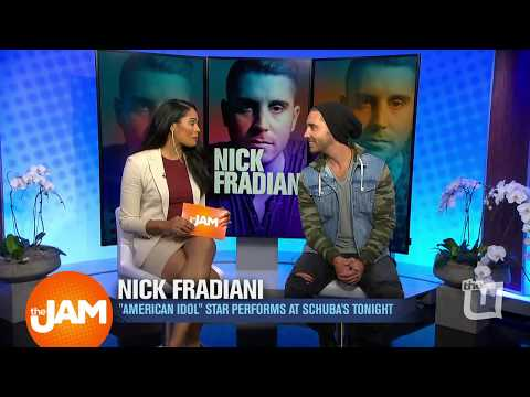 Catching Up with American Idol Winner, Nick Fradiani!
