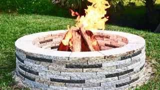 Encore Stone Round Granite Fire Pit: Diy Guide
