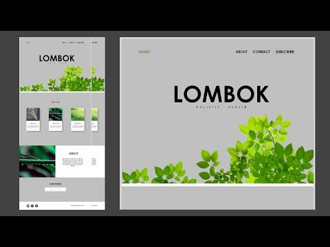 How to Design a Website in GIMP - Learn Web Design With Gimp thumbnail