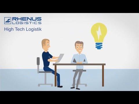 Rhenus Midi Data - High Tech Logistik - Deutsche Version