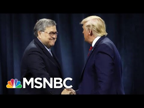 After Day One Of Impeachment Hearing, Is Barr Distancing Himself From Trump?   The 11th Hour   MSNBC