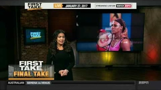 ESPN FIRST TAKE (1/27/2016) MOLLY QERIM FINAL TAKE OF THE DAY