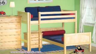 Maxtrix Kids Furniture - Beds - Bunk Beds & More
