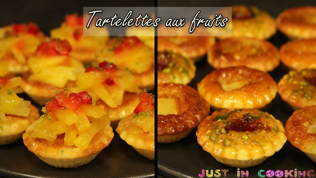 recette de mini tartelettes aux fruits youtube. Black Bedroom Furniture Sets. Home Design Ideas