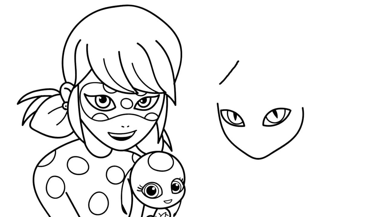 Uğur Böceği Ve Kara Kedi çizimi Ve Boyaması Yeni Bölüm Youtube