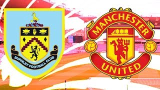 BURNLEY 0-2 MANCHESTER UNITED LIVE FULL MATCH REACTION!!!
