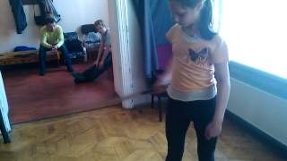 1 урок по фланкировке. Детям тоже под силу!)))