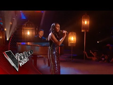 Sienna-Leigh Performs 'Beautiful': The Final | The Voice Kids Uk 2018