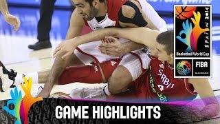 Iran v Serbia - Game Highlights - Group A - 2014 FIBA Basketball World Cup