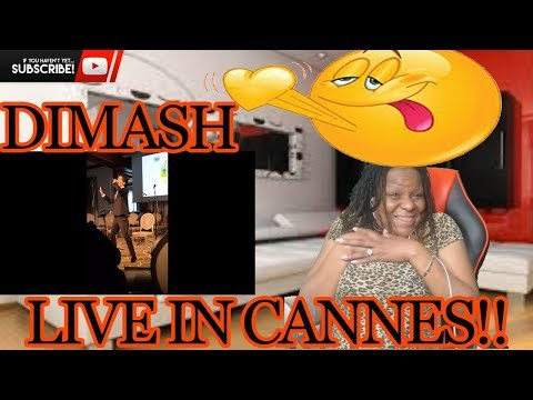 DIMASH Live  IN Cannes 9 5 2018 | REACTION
