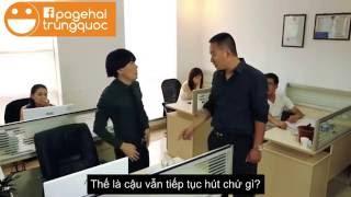 Hài Trung Quốc: Khi Sếp đã muốn trừ lương:)