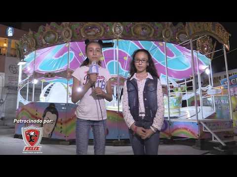 Airan y Melany disfrutando de las Atracciones Calderón FERELO 2017