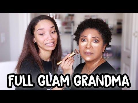 Doing MY MOM'S Makeup! (FULL GLAM)
