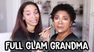 Doing MY MOM'S Makeup!