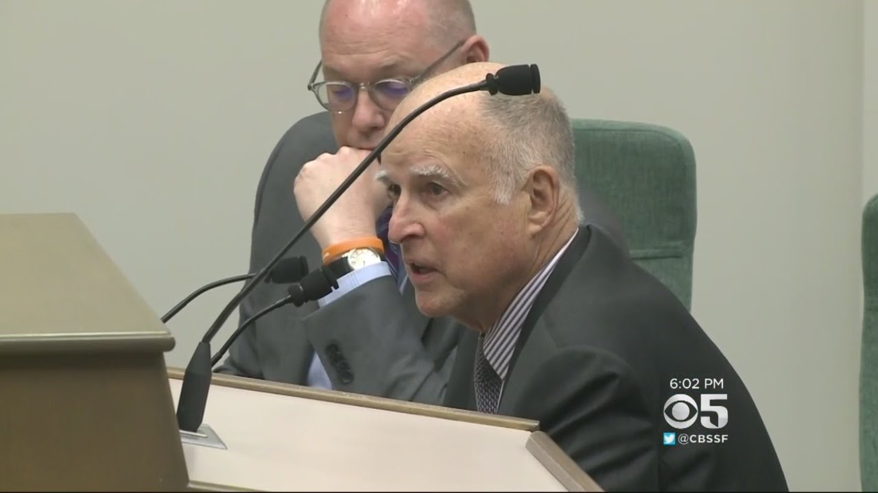 Gov. Brown signs bill OKing $52 billion tax to fix state roads
