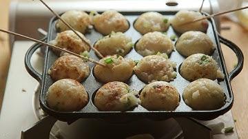[SUB] 타코야키 : How to make Takoyaki :  꿀키