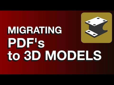 HOT TIP #002 - Migrating PDF To 3D Geometry