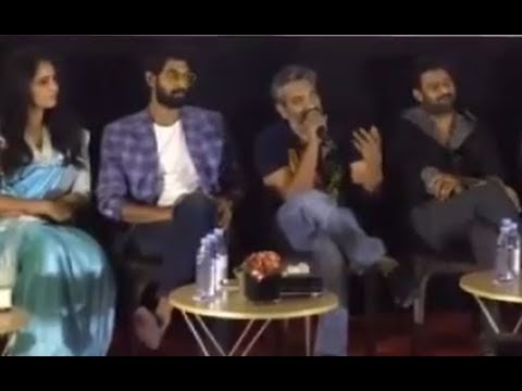 Bahubali-2 Dubai press meet full interview // Anushka , Prabhas , Rana and Rajamauli //