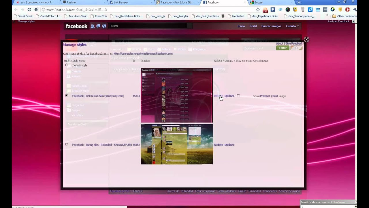 User styles google chrome themes - Kynetx Restyler Restyle Your Websites With Userstyles Org Stylesheets Chrome Firefox