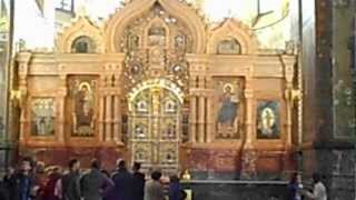 Храм Воскресения Христова (Спас на крови)(Съемка внутри храма..., 2012-09-20T17:55:55.000Z)