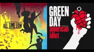 American Idiot, Count Me In (Mashup) – All Time Low/Green Day