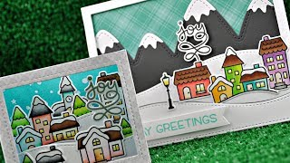 Intro to Winter Village + 2 cards from start to finish