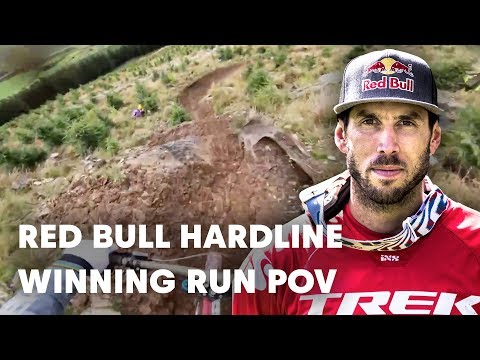Gee Athertons Winning POV  Red Bull Hardline 2018