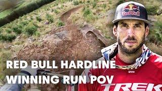 Gee Atherton's Winning POV   Red Bull Hardline 2018