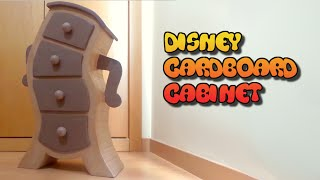 Disney Furniture Made With Cardboard. Carton Cabinet