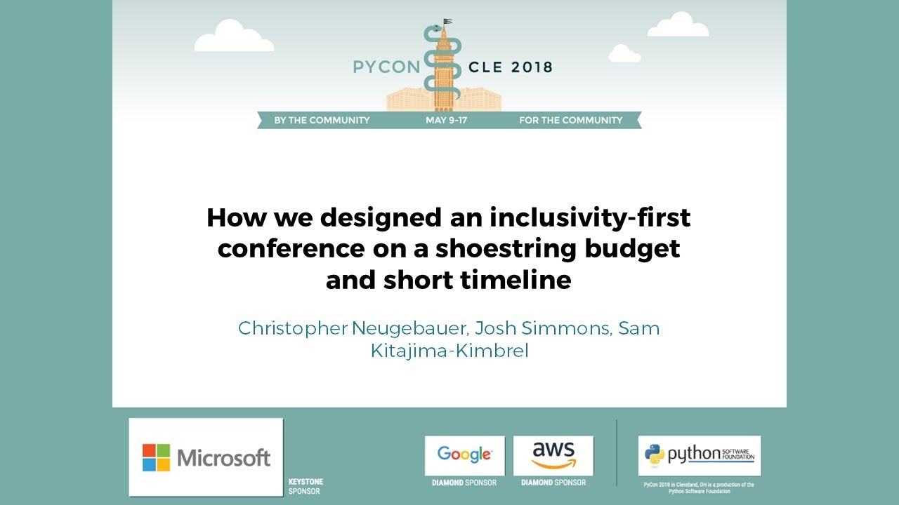 Image from How we designed an inclusivity-first conference on a shoestring budget and short timeline