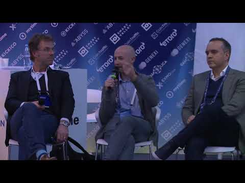 Cryptospace Moscow. Panel discussion. Cryptocurrencies.