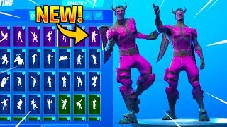 *NEW* DARK LOVE RANGER Skin Showcase With Dance Emotes! Fortnite Battle Royale