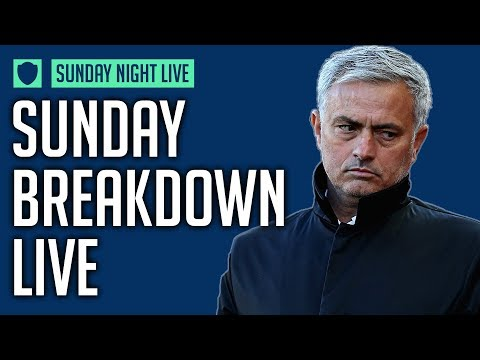 SUNDAY BREAKDOWN LIVE 🔴 | CAN MAN UNITED WIN THE TITLE PLAYING LIKE THAT?! #1 | NEW SHOW