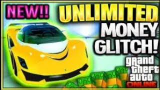 *NEW* -100% WORKING- GTA 5 ONLINE MONEY GLITCH !! (Patched)