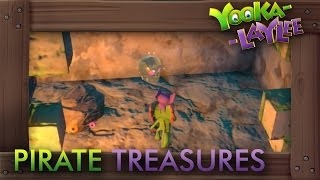 Yooka-Laylee - All Pirate Treasure Locations (Secret Collectibles)