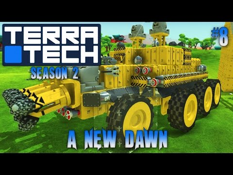 Terratech Season 2 #8 Venture Into The Unknown