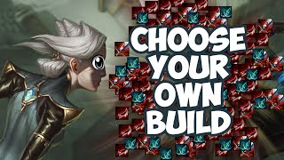 Camille Choose Your Own Build League Of Legends