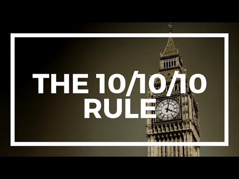 How to use the 10/10/10 Rule to make the best decisions #TheNomadCode