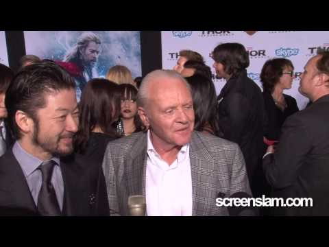 Thor: The Dark World: Anthony Hopkins and Tadanobu Asano Exclusive Premiere Interview
