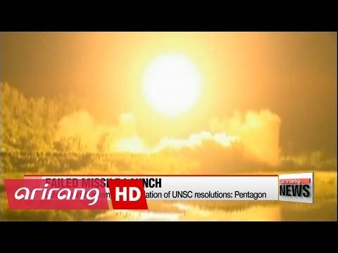 N. Korea fires ballistic missile, ends in failure