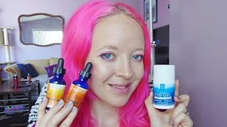 InstaNatural Skin Care | Vitamin C Serums and Eye Gel | Review