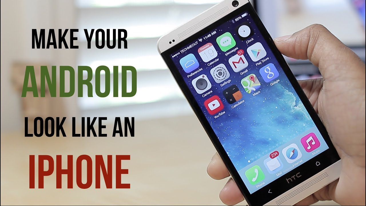 make your android look like an iphone on ios 7