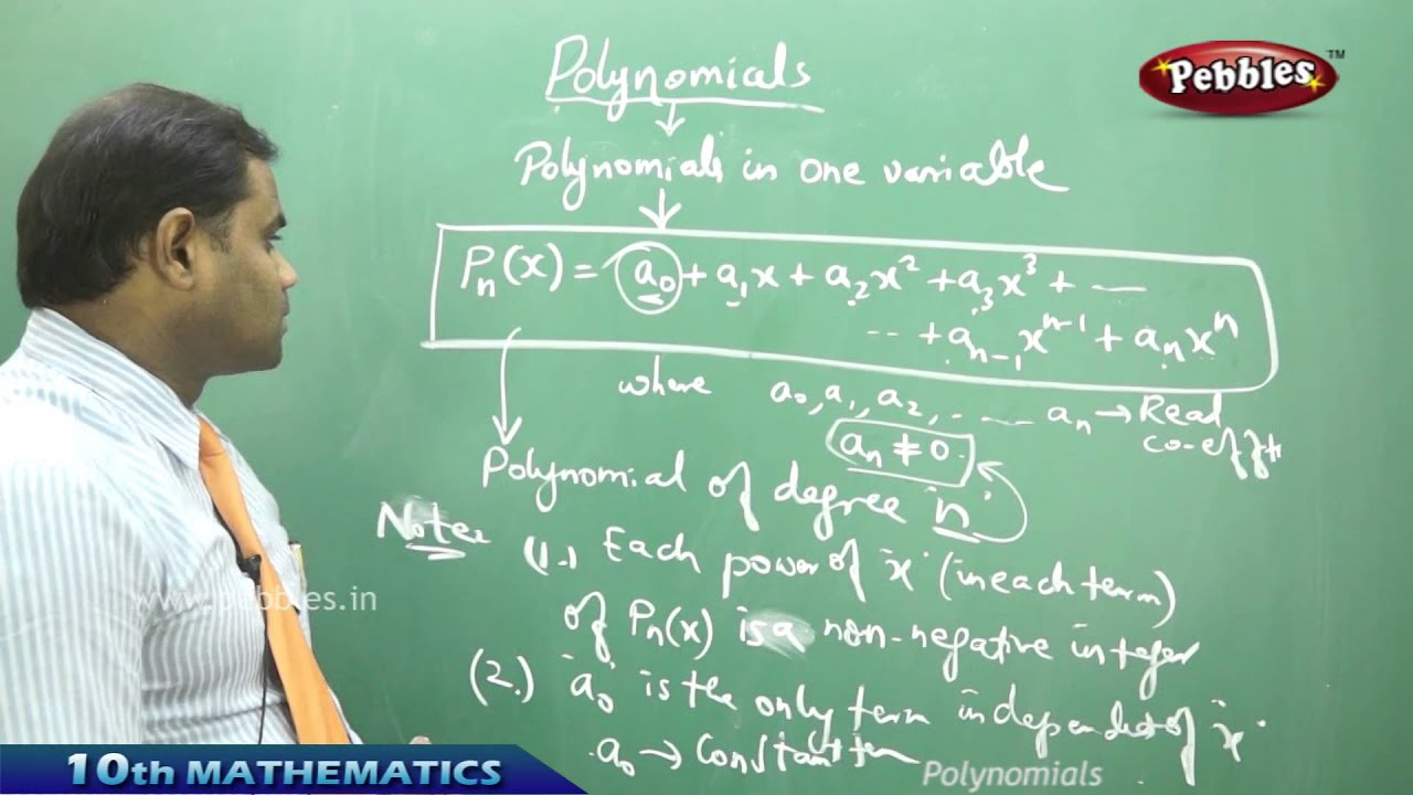 Polynomials - AP & TS CLass 10th State Board Syllabus Mathematics ...