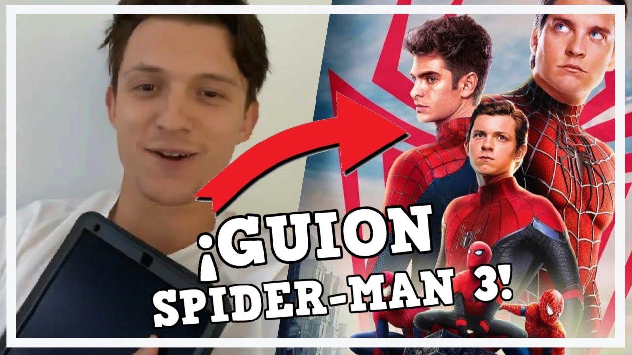 ¡ Tom Holland ya tiene en sus manos el Guion de Spider-Man 3! Uncharted, Snyder-Cut y más..